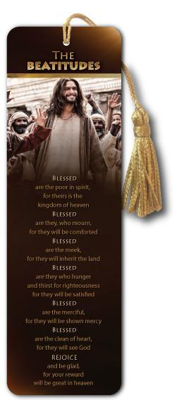 The Beatitudes - Bible Bookmark - Son of God Movie - Art-SoulWorks.com