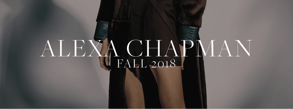 Alexa Chapman Fall 2018 Lookbook