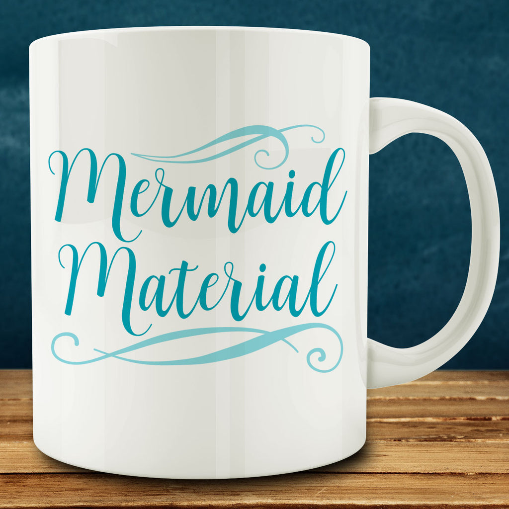 Mermaid Material Mug