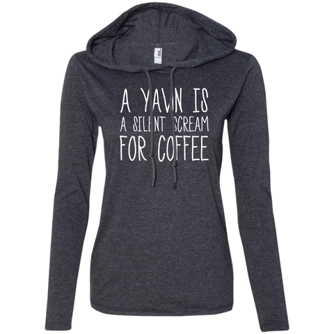 A Yawn Is A Silent Scream For Coffee!, Apparel, CustomCat, Viper Coffee