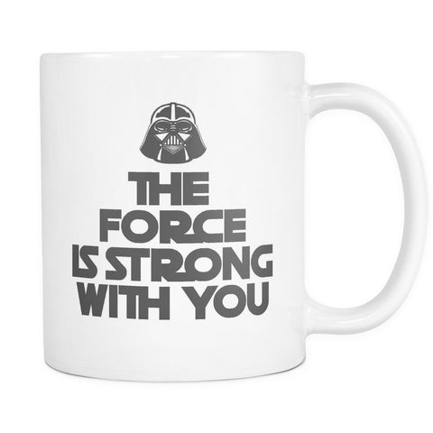 The Force Is Strong With You, Drinkware, teelaunch, Viper Coffee