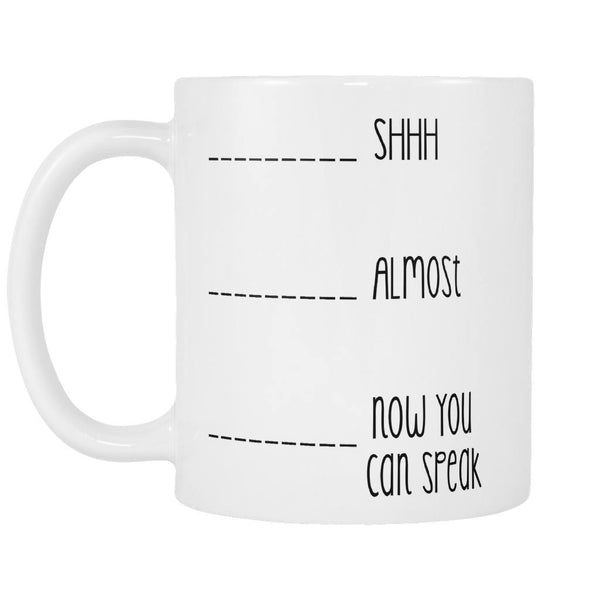 Don't Talk To Me Before I Have My Coffee! - Coffee Mug, Drinkwear, teelaunch, Viper Coffee