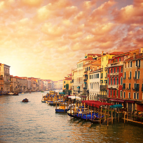 Beautiful Venice Canal View Wall Mural