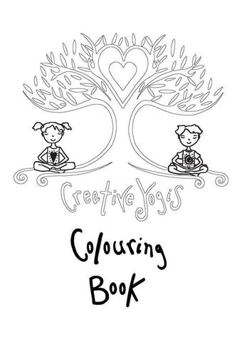 Children's Colouring Book by Karen Wightman