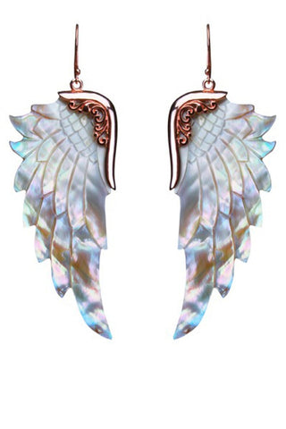 Opal Wonder Wings Large Rose Gold