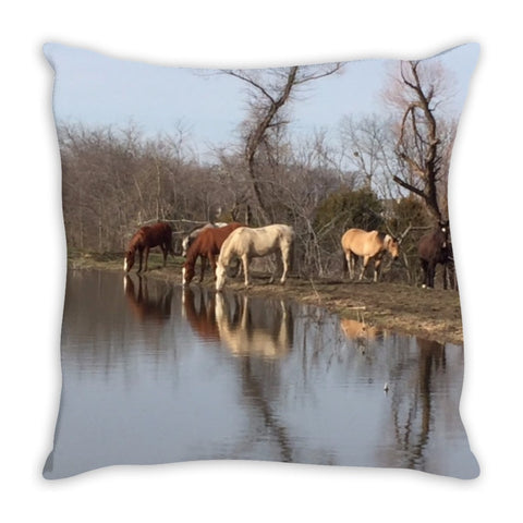 Becky's Hope Horse Rescue  -  Horse Pillow - Furbabies.love - 1