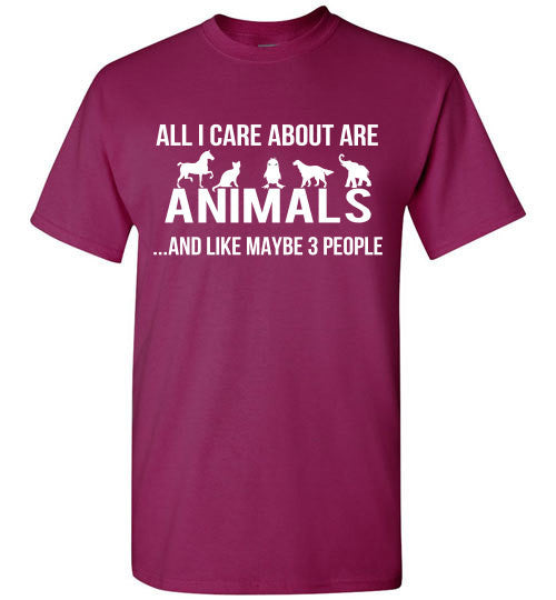 All I care about are animals ...and like maybe 3 people - Furbabies.love - 2