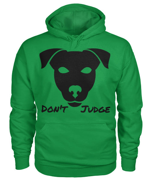 Don't Judge - Pitbull Dog Hoodie - Furbabies.love - 15