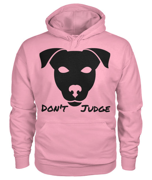 Don't Judge - Pitbull Dog Hoodie - Furbabies.love - 5