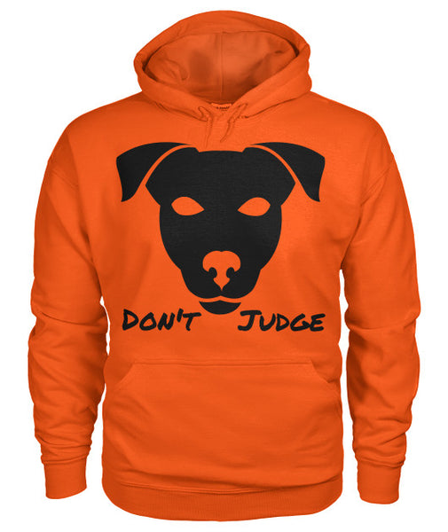 Don't Judge - Pitbull Dog Hoodie - Furbabies.love - 9