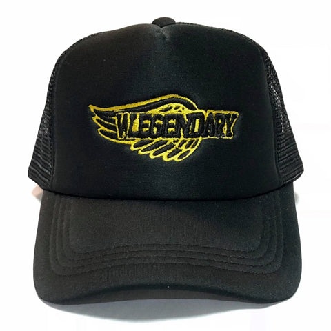 WL WINGMAN TRUCKER HAT BLACK