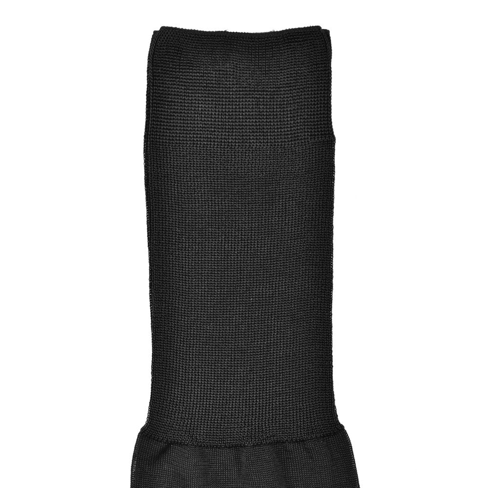 Dublo Original - Plain knee high dress socks - Black