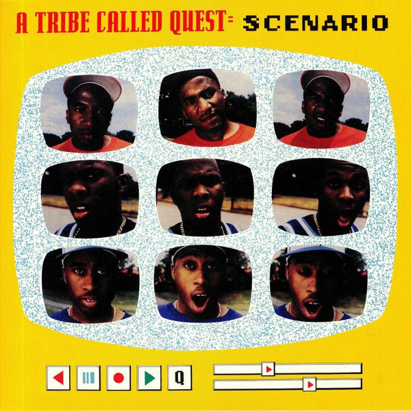"A Tribe Called Quest ‎– Scenario (Vinyl 7"")"