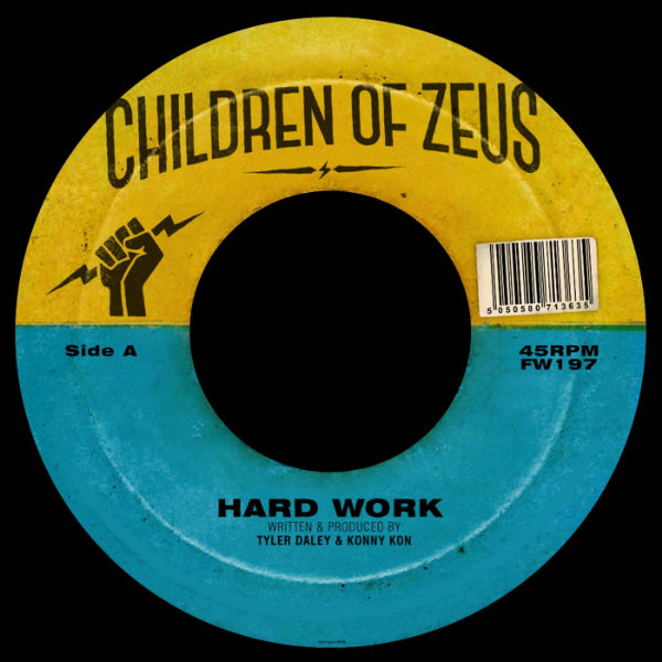 "Children of Zeus - Hard Work / The Heart Beat, Pt. 2 (Vinyl 7"")"