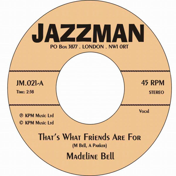 Madeline Bell - That's What Friends Are For (Vinyl 7'')
