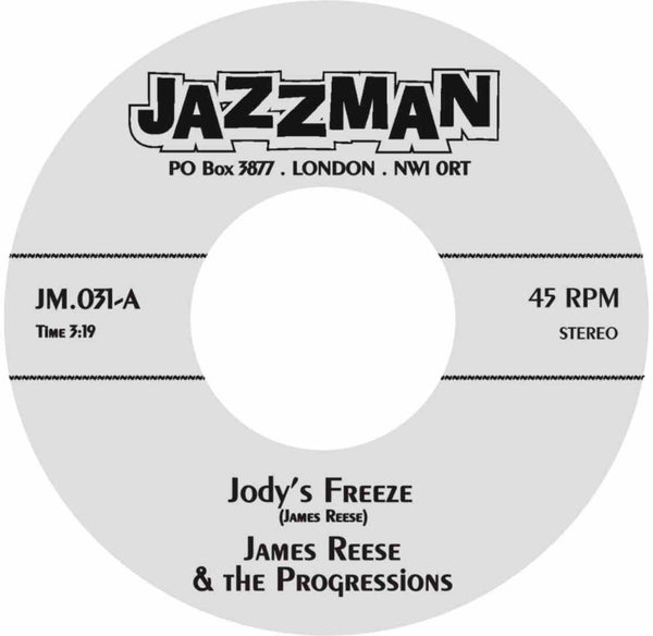 James Reese & The Progressions - Jody's Freeze (Vinyl 7'') - Rook Records