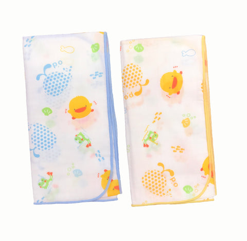 100% Cotton Bath Towel 2pcs - Piyopiyo Canada