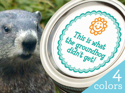 Groundhog canning labels | CanningCrafts.com