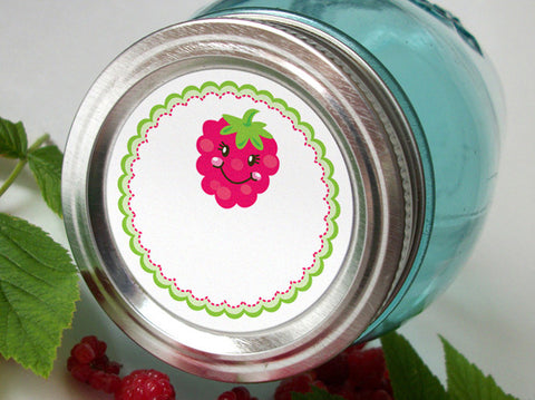 Raspberry Canning Labels | CanningCrafts.com