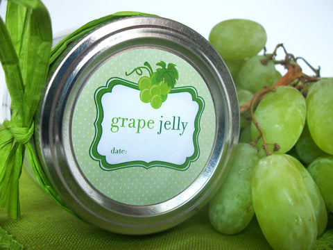 White grape canning label | CanningCrafts.com