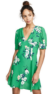 Freepeople green print dress