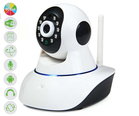 720P Wi-Fi IP Camera - White
