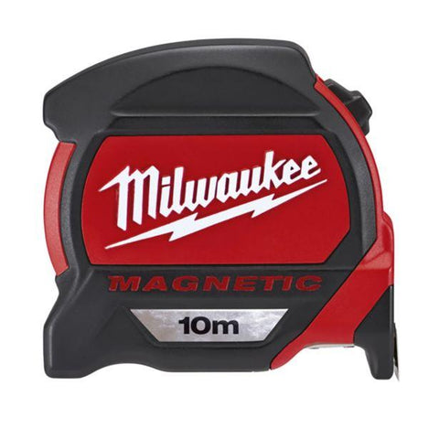 Milwaukee Tape Measure - Milwaukee 10M Magnetic Metric Tape Measure - bcsupplies.com.au