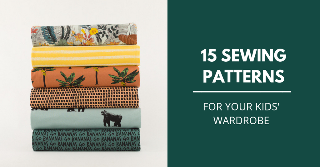 15 sewing patterns for kids