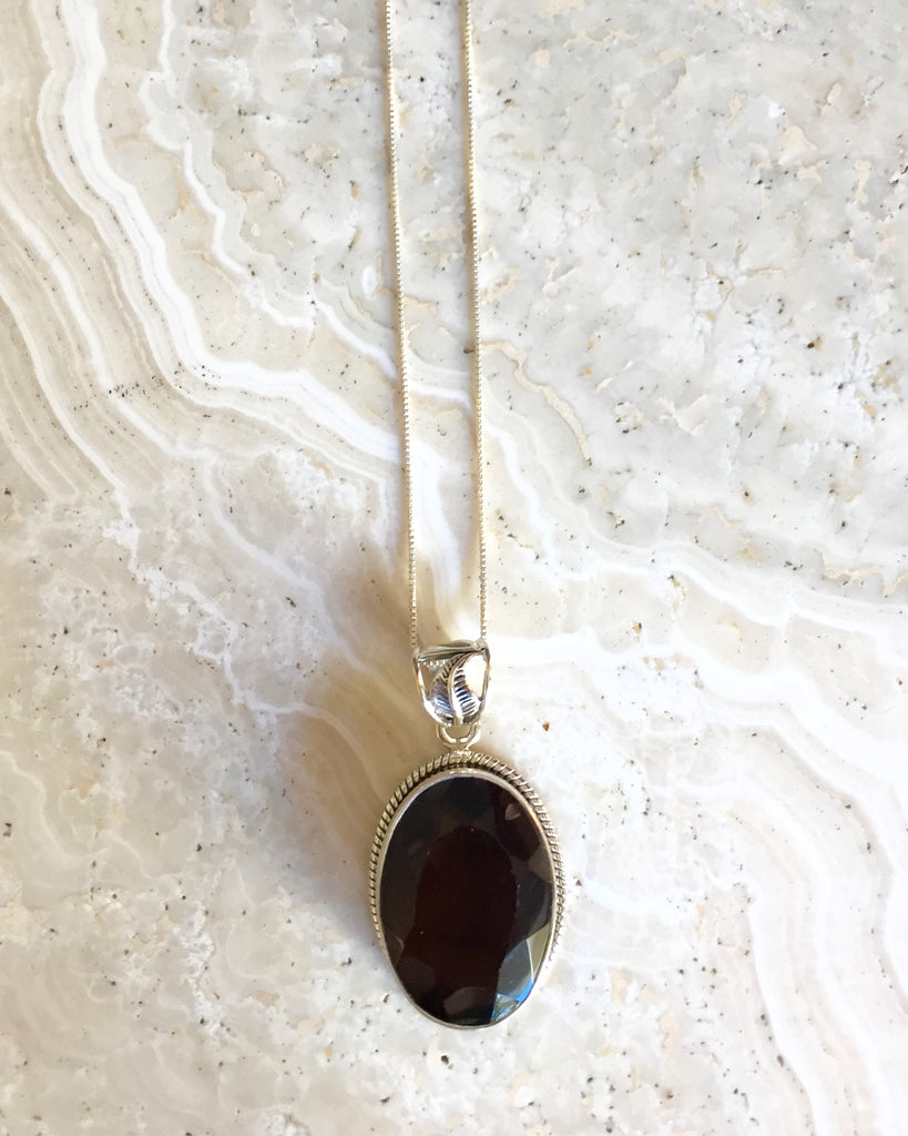 Smokey Quartz Cleanse Necklace