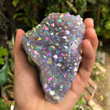 Angel Aura Amethyst cluster no.2