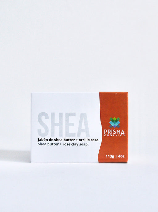 SHEA BUTTER & ROSE CLAY SOAP - PRISMA