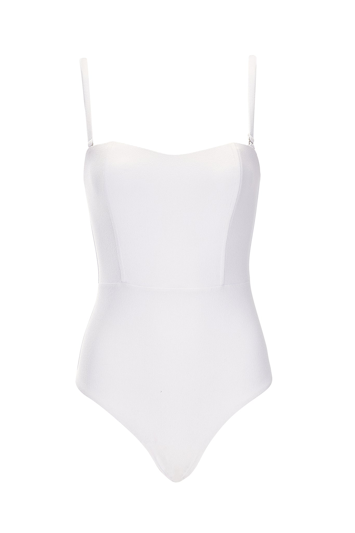 Marilyn One Piece - Cream Crepe