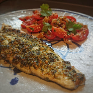 Grilled Sea Bass with Spice Rub