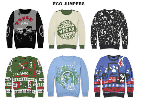 sustainable and organic christmas sweater and jumper manufacturer UK