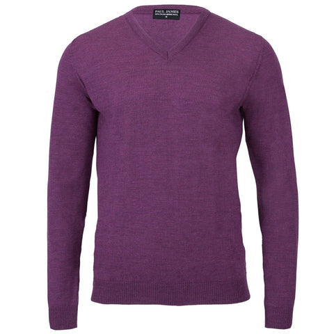Mens Extra Fine Merino Wool Crew Neck Jumper