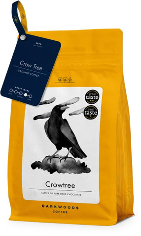 Dark Woods Crow Tree Coffee 8x250g (Ground)