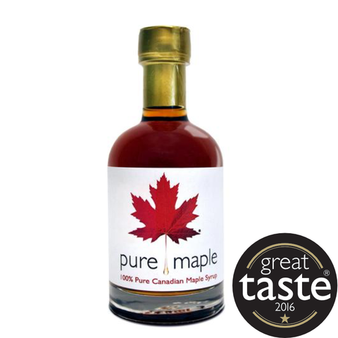 Pure Maple Grade A Amber Rich Taste Maple Syrup (6x330g)
