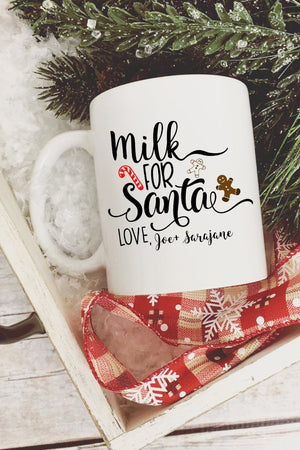 Milk for Santa Mug, Home, Maryland China, - Sunny and Southern,