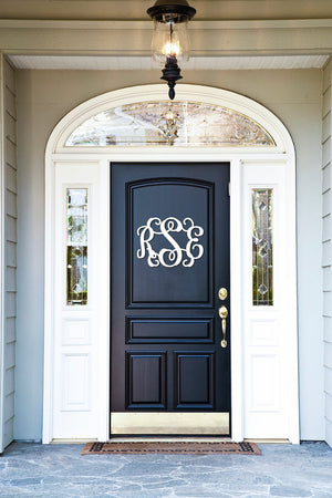 3 Initial Wood Monogram, Home, WB, - Sunny and Southern,
