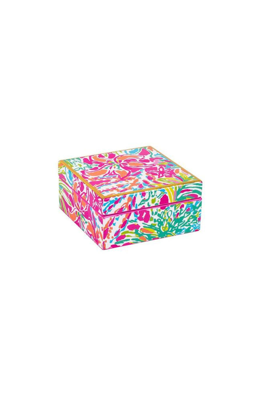Lilly Pulitzer Lacquer Box, accessories, Lilly Pulitzer, - Sunny and Southern,