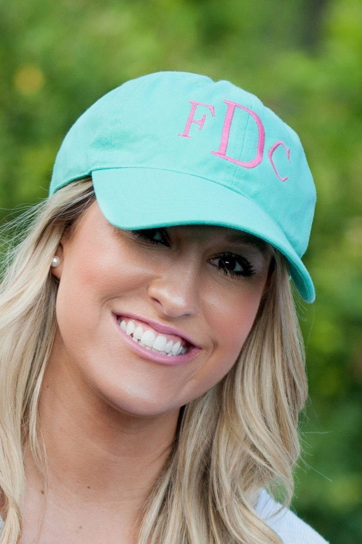 Classic Monogrammed Baseball Hat, accessories, WB, - Sunny and Southern,