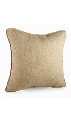 Burlap Pillow, Home, Mud Pie, - Sunny and Southern,