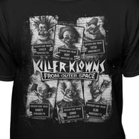 Killer Klowns From Outer Space Official Cult Mugshot T-Shirt