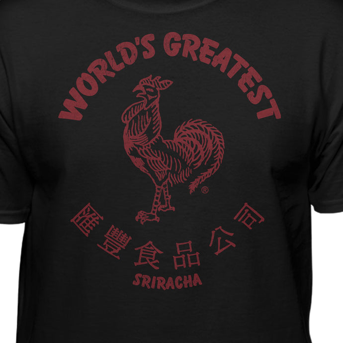 Sriracha World's Greatest Hot Sauce Men's T-Shirt