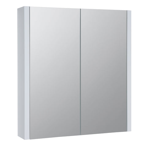 K-Vit Purity 600mm Mirror Cabinet - White