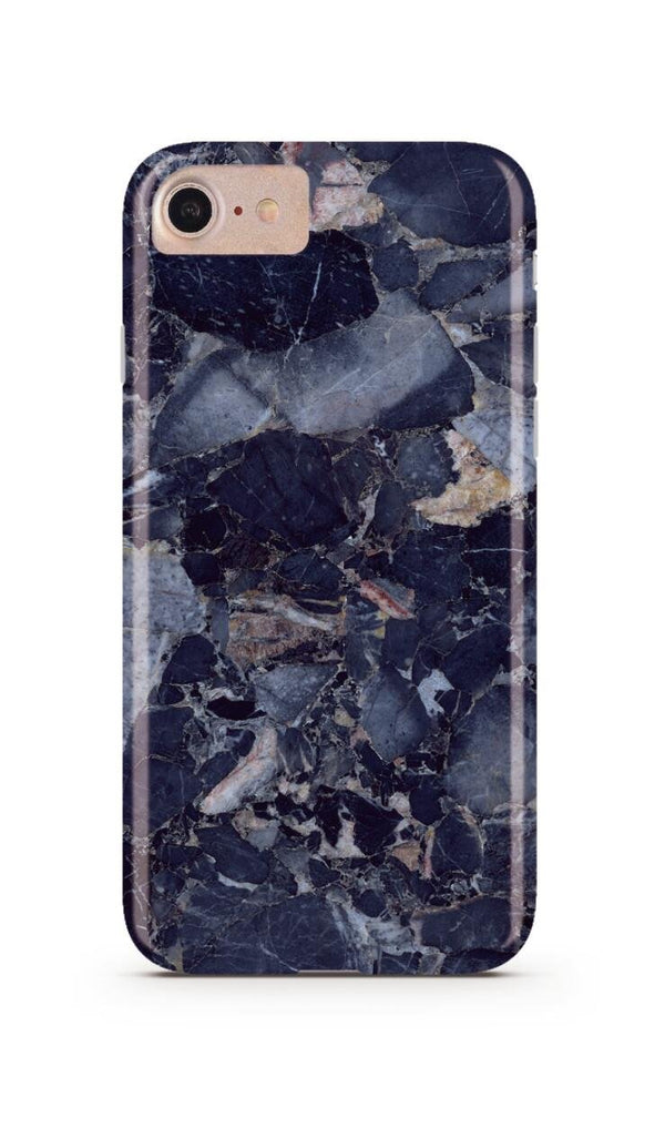 Blue Shattered Marble iPhone Case IPHONE 6/S - CASES A LA MODE