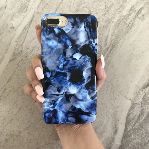 Blue Waters Marble iPhone Case IPHONE 7 PLUS - CASES A LA MODE