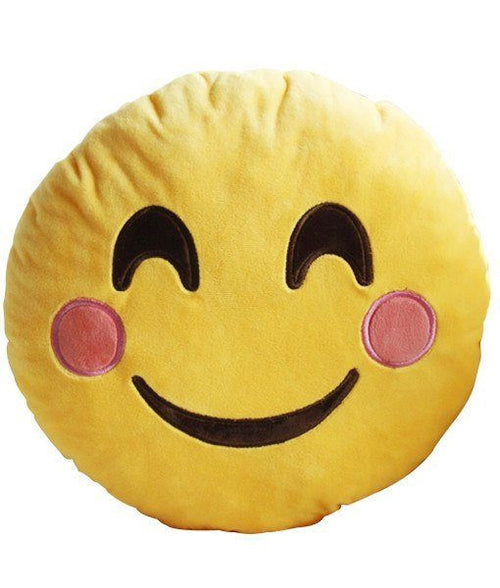 Emoji Pillow Blushing Face  - CASES A LA MODE