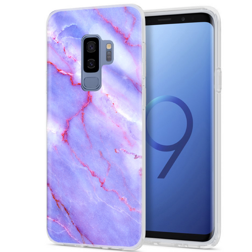 Purple Sky Marble Samsung Case GALAXY S9 - CASES A LA MODE