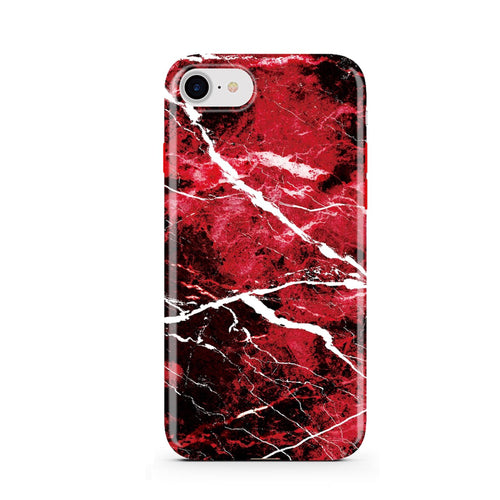 Red Galaxy Marble iPhone Case  - CASES A LA MODE